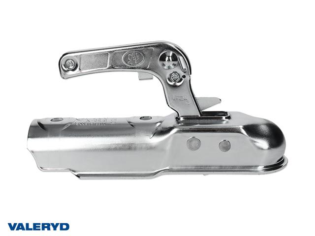 Kulkoppling 750 kg, Ø50mm rör, vertikal hålbild CC=90mm