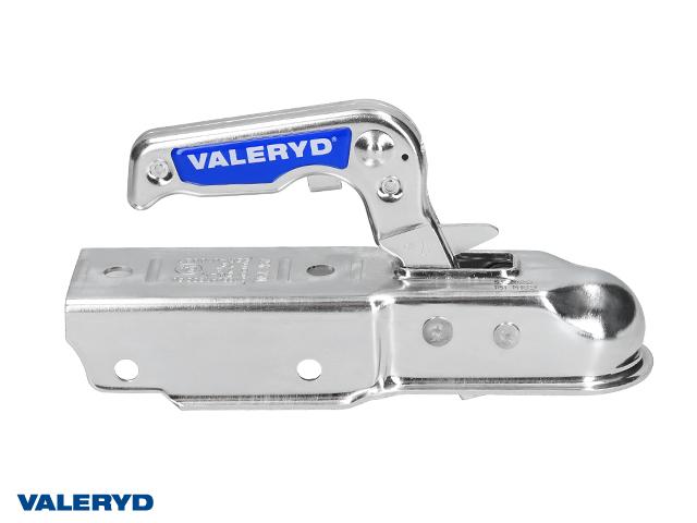 Kulkoppling 750 kg, Fyrkant 60mm, vertikal hålbild CC=90 mm