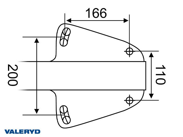 Auflaufeinrichtung Knott KF13-C 750-1300 kg