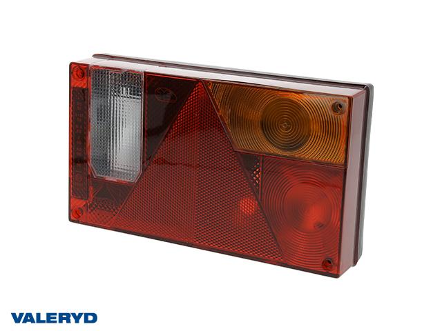 Rücklicht Aspöck Multipoint 1 Rechts  240x140x52, Reflektor, Gehäuse mit Kabeldurchführung