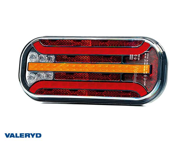 LED Rücklicht R/L 214,3x94,3x37,7 12-36V mit je 1m Kabel