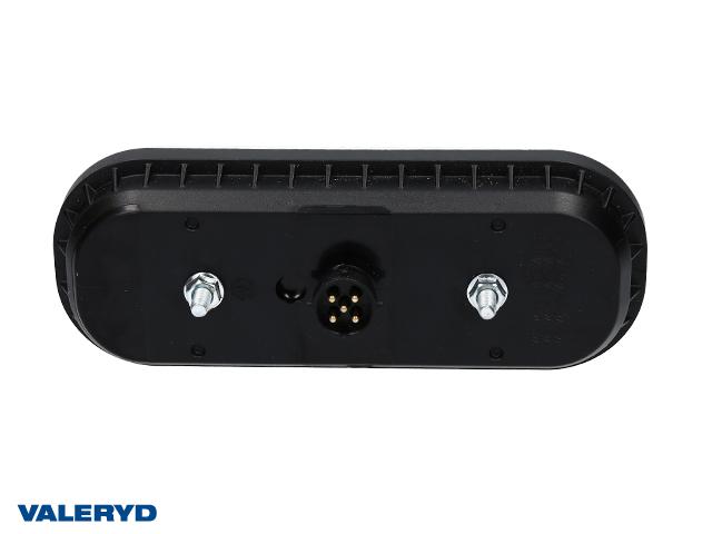 LED Baklys Hø/Ve 195x75x35 12/36V Bajonettilslutning 5-pol