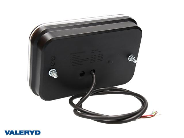LED Rücklicht R 200x130x50 , 12V, mit 1m Kabel