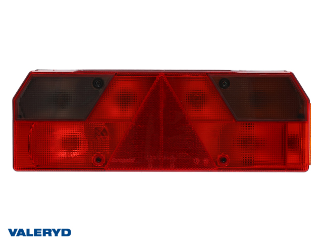 Baklys Aspöck Europoint li Ve 423x143x74mm med kabelforskyvninger, uten lyspærer
