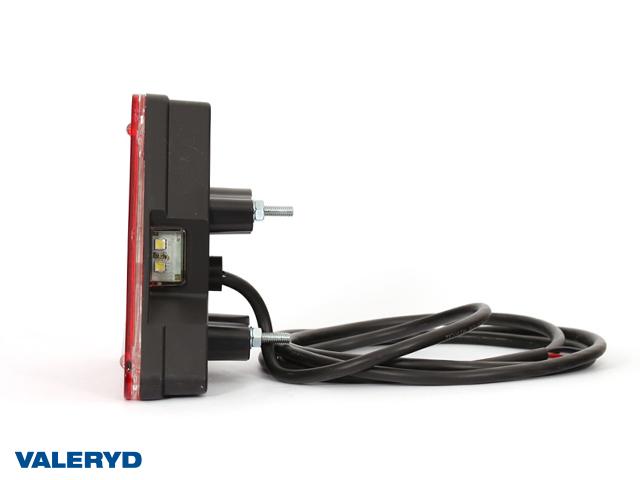 LED Baklys WAŚ Ve 163x144x60,3 tåkelys, lisens plate lampe 185cm kabel