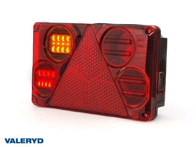 LED Baklys WAŚ Ve 232x142x59 refleks, lisens plate lampe 195cm kabel