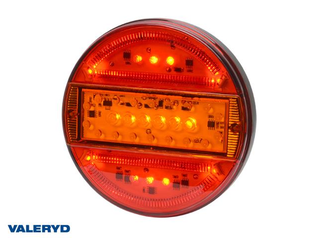 LED Rücklicht WAŚ R/L Ø165x25 200cm kabel