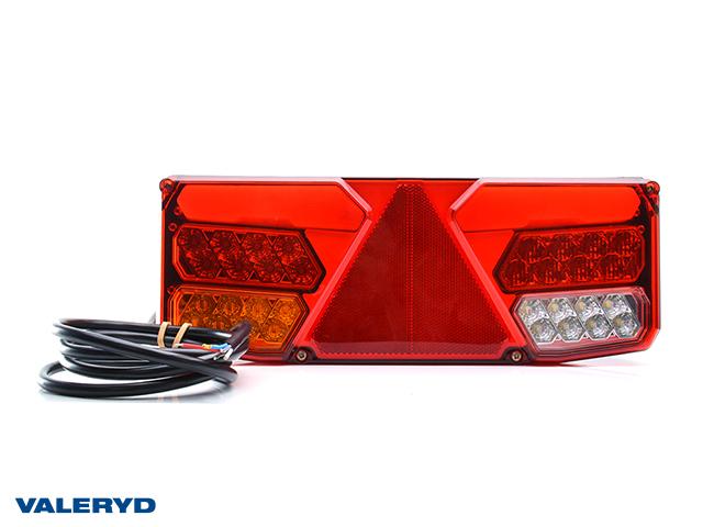 LED Baklys WAŚ Ve 350x131x81 ryggelys, tåkelys 200cm kabel