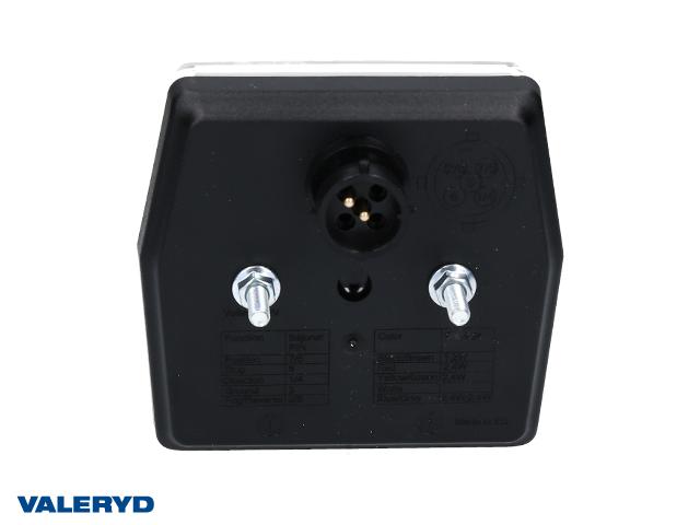 LED Nebellampe 99,7x92,7x30, Bajonet, 2 x M5 Schraubverbindung, CC=45mm