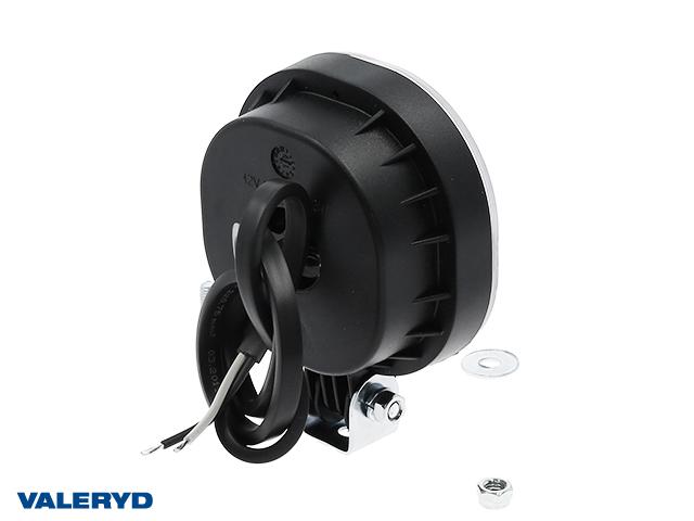 LED Tåkelys , 75x75x33x kabel 0,5, leddet montering
