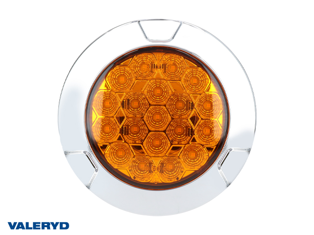 LED blinklys WAŚ Hø/Ve 135x37.5 gul 200cm kabel