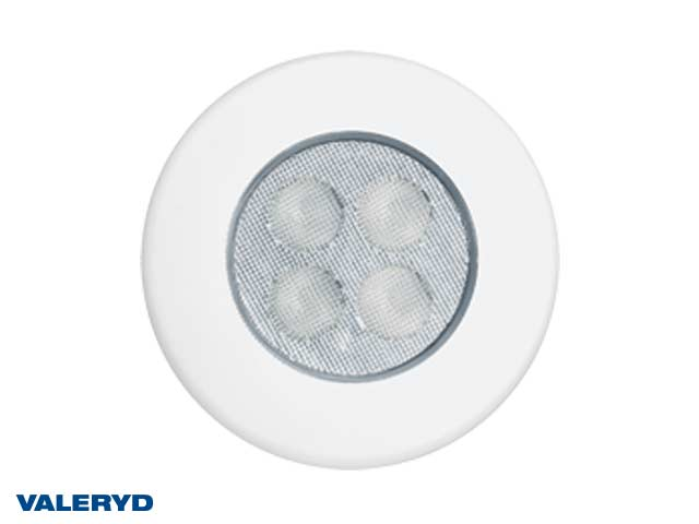 LED Innebelysning rund Ø92 hvit