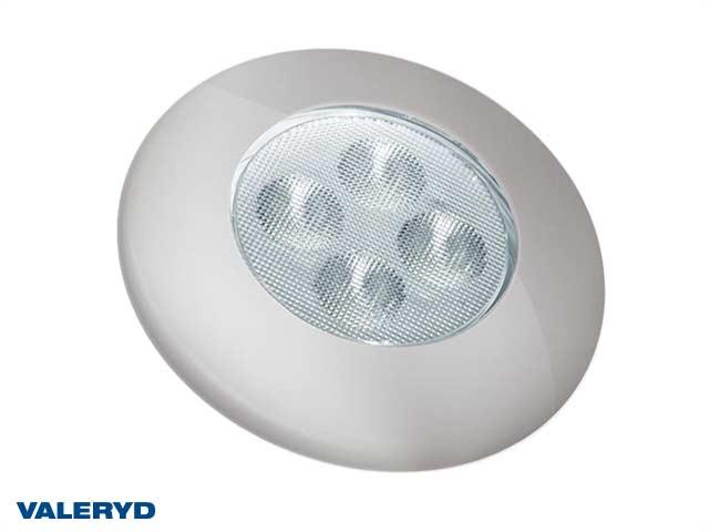 LED Innebelysning rund Ø92 sølv