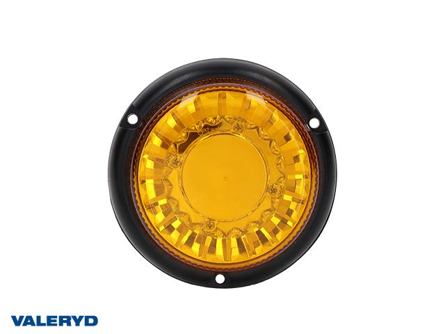 LED varoitus keltainen ruuvikiinnitys Kabel 1,5m