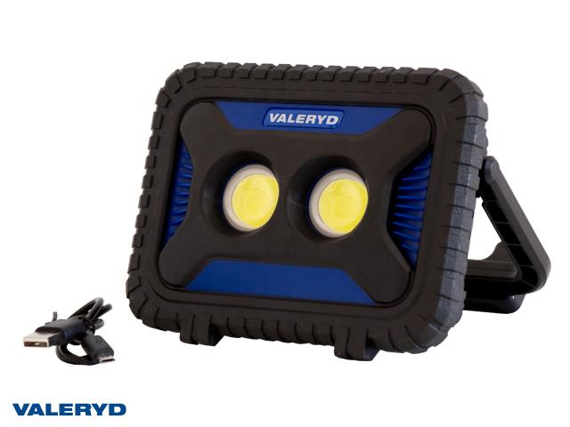 Multi LED Arbeidsbelysning Valeryd med magnet håndtak 170x105x45mm 1000Lm oppladbart