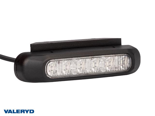 LED Lampa za upozorenje zuta 132,2x28,2x28mm bijela 1 m kabel