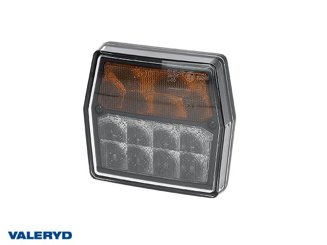 LED Blinker- & Positionsleuchte , 99,7x92x7x30 gelb/weiß, Bajonettanschluss, CC=45mm
