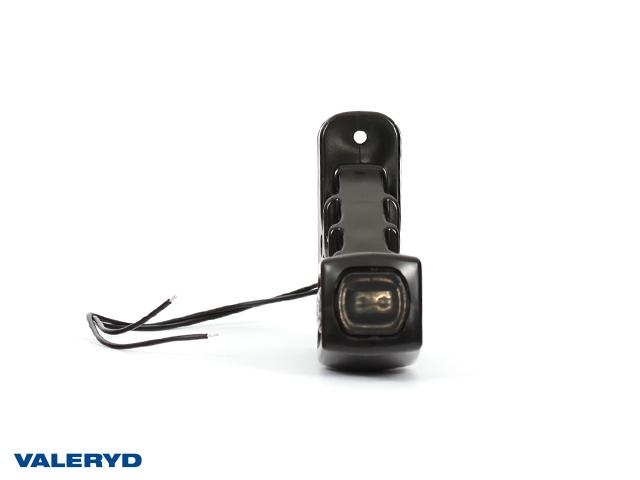 LED Sidemarkeringslykt WAŚ Ve 135x114x37 hvit 280mm kabel