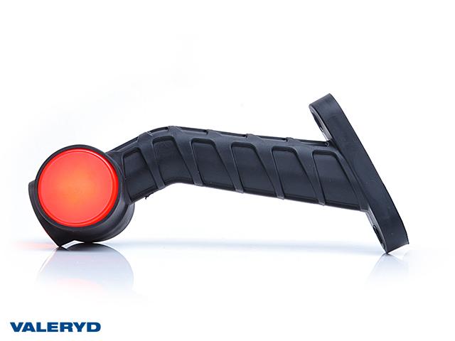 LED Sivuvalaisin WAŚ Vas 189x140x55 keltainen/valkoinen/punainen 200mm kaapelilla