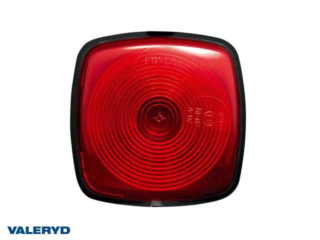 Äärivalo 65x65x42,5 punainen