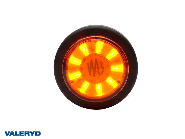 LED Seitenmarkierungsleuchte WAŚ R/L Ø60,6x26,4 gelb 200mm kabel