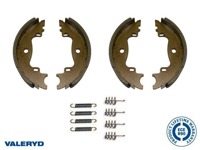 Brake shoe set 160x35 fits Knott Axle set