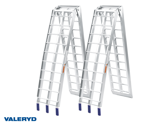 Lasterampe aluminium 2260x305mm, 680 kg/par (2-pack)