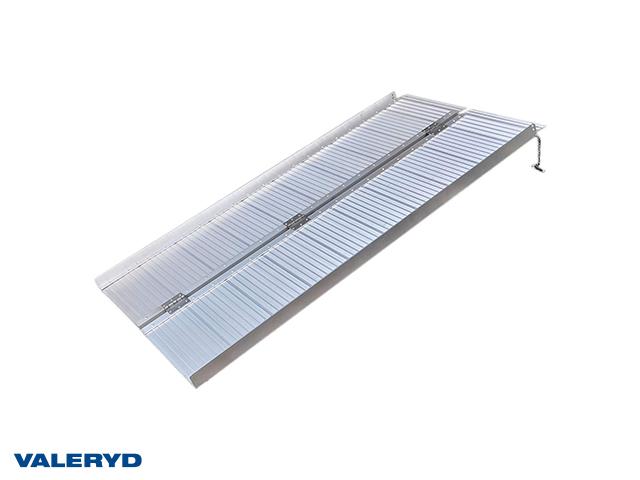Lasterampe aluminium 920x720x50mm, foldbar: 920x360x80mm, 270 kg