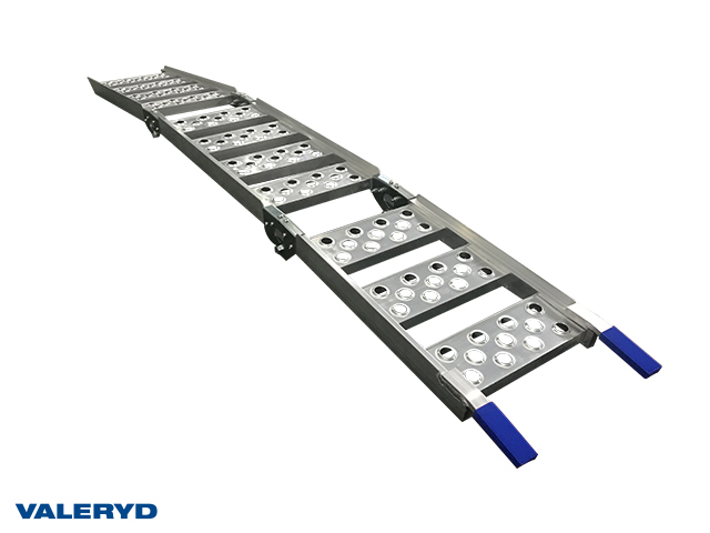 Lasterampe aluminium 1985x305mm, foldbar: 715x305mm, 270 kg