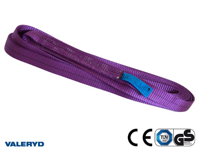 Båndsling polyester, endeløs 4m/8m, 1 ton