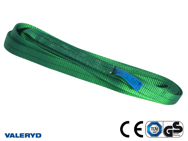 Båndsling polyester, endeløs 1m/2m, 2 ton