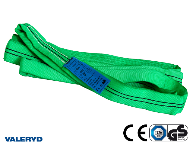 Rundsling polyester, 2m/4m, 2 ton