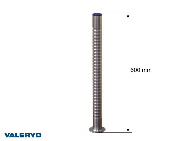 Støtteben Ø48mm. 600mm med håndtag