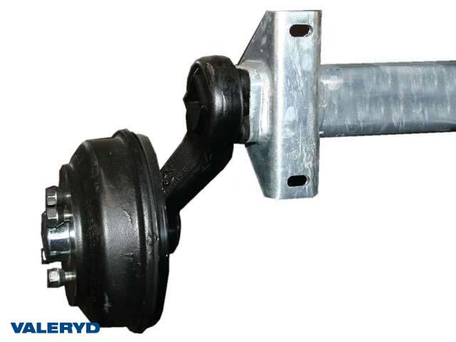 Axel BPW 1050kg 200x50/1200/1650/4x100 - inkl. frakt