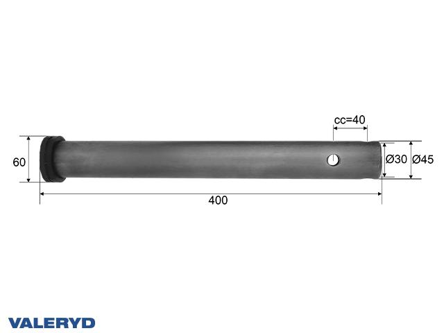 Dragrör Schlegl SFV 20 (400mm), Ø 45mm