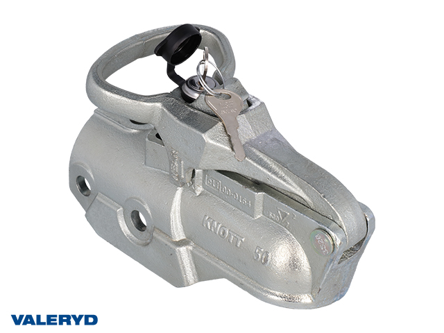 Kulkoppling 3500 kg Avonride Lock 35, förØ60mm rör, M14, korsad/horisontal hålbild CC=40-54mm