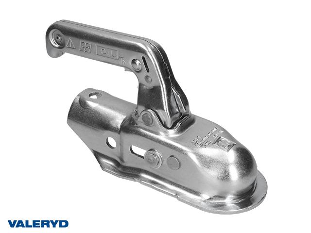 Kulkoppling 1500 kg EM 150 R/A, Ø46mm rör, Korsad hålbild CC=40, stål