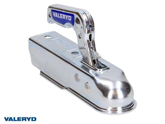 Kulkoppling 800 kg Fyrkant 50mm, vertikal hålbild CC= 90mm