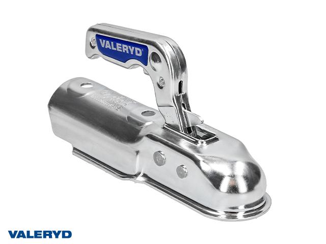 Kulkoppling 750 kg Ø60mm rör, vertikal hålbild CC= 90mm