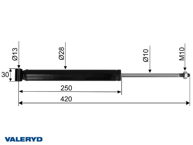 Påskjutsdämpare passar till Grau GPA 2,0 CC=420