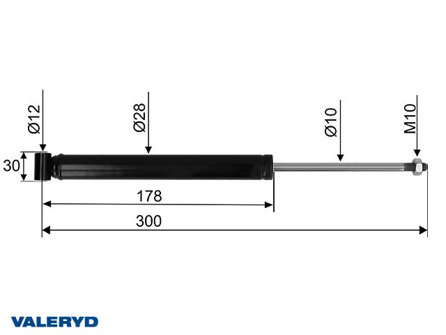 Påskjutsdämpare Grau GSA 1,0 // 1,5; CC=300