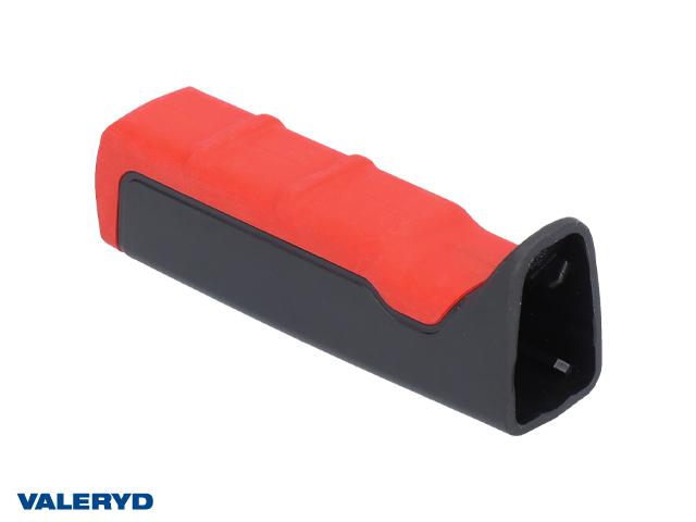 Handtag till handbromsspak AL-KO, svart/röd plast AL-KO, ny design 2012