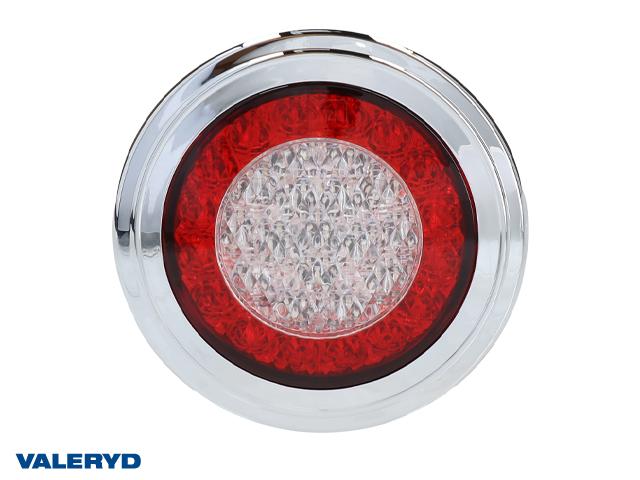 LED Baklampa Hö/Vä Ø95 12-24V färdljus, broms och blinkers
