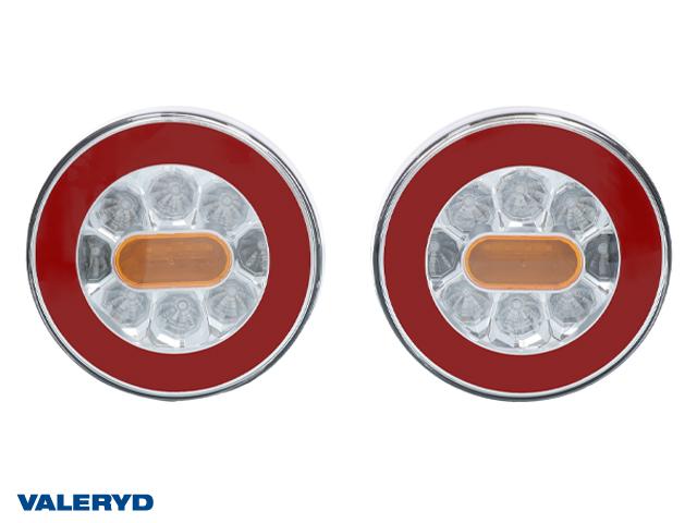 LED Baklampa Hö/Vä 140x50,5 12-24V inkl. 1m kabel (2-pack)