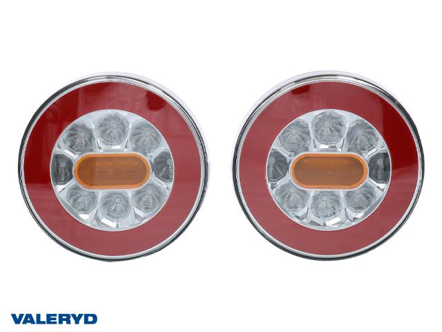 LED Baklampa Hö/Vä 140x50,5 12-24V (2-pack) Bajonettanslutning 4(5)-pol.