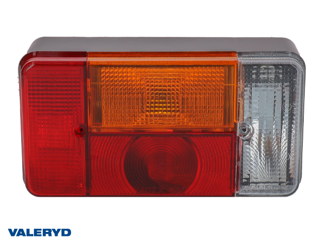 Baklampa Radex 5001S Hö 190x100x60 med skyltbelysning och backljus