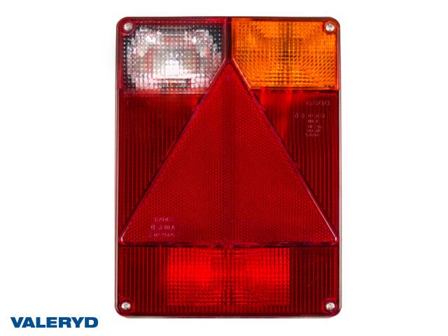 Baklampa Radex 6800 Hö 220x160x60 med backljus. Bajonettanslutning