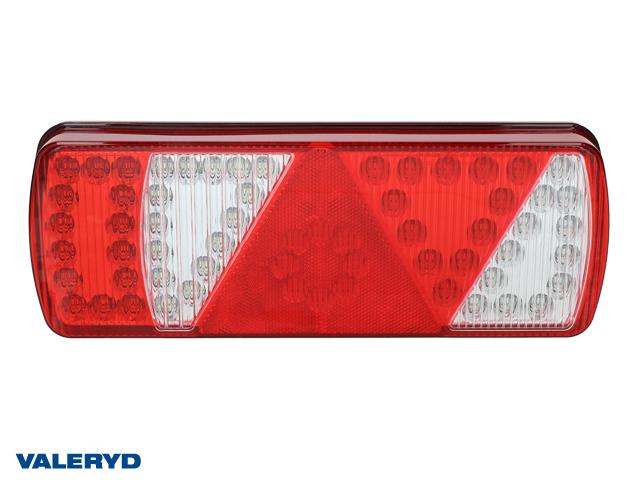 LED Baklampa Aspöck Ecoled Hö 350x131,80x71mm Backljus, reflex, dimljus, 7 pol. ASS2