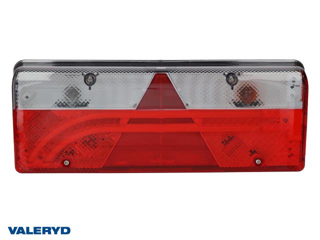 LED Baklampa Aspöck Europoint III Hö 400x153x88mm, 7 pol. ASS2.1 med 4x2 pol. ASS2