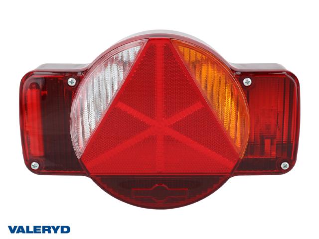 Baklampa Humbaur Hö 250x155x55 skyltbelysning, backljus, bajonettanslutning 5-pol.